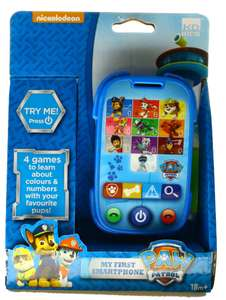 Paw Patrol My First Smartphone - £3.90 instore @ Sainsbury's