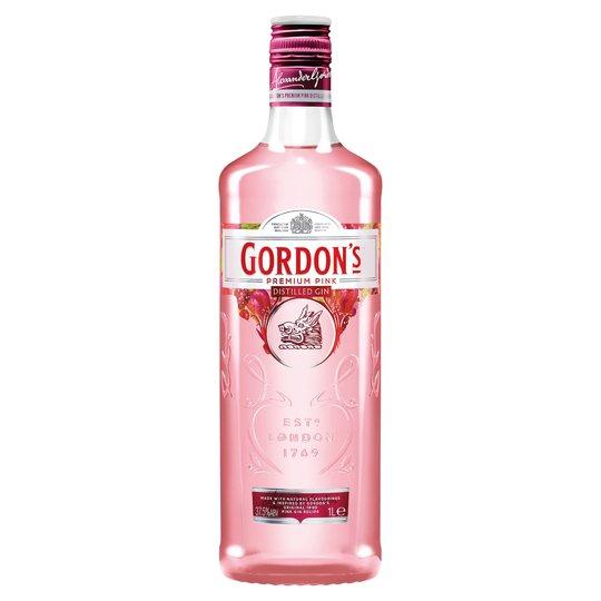 Gordon's Premium Pink Distilled Gin 1 Litre £18 with cashback through CheckoutSmart ordered at Tesco.com or Asda.com (one bottle only)
