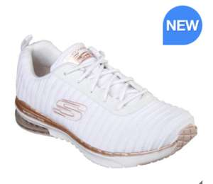 Skechers Women's Skech Air Shoes in White or Navy £36.99 Costco