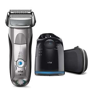 Braun Series 7 Electric Shaver for Men 7898cc, Wet and Dry, with CleanandCharge Station - £113.24 @ Amazon