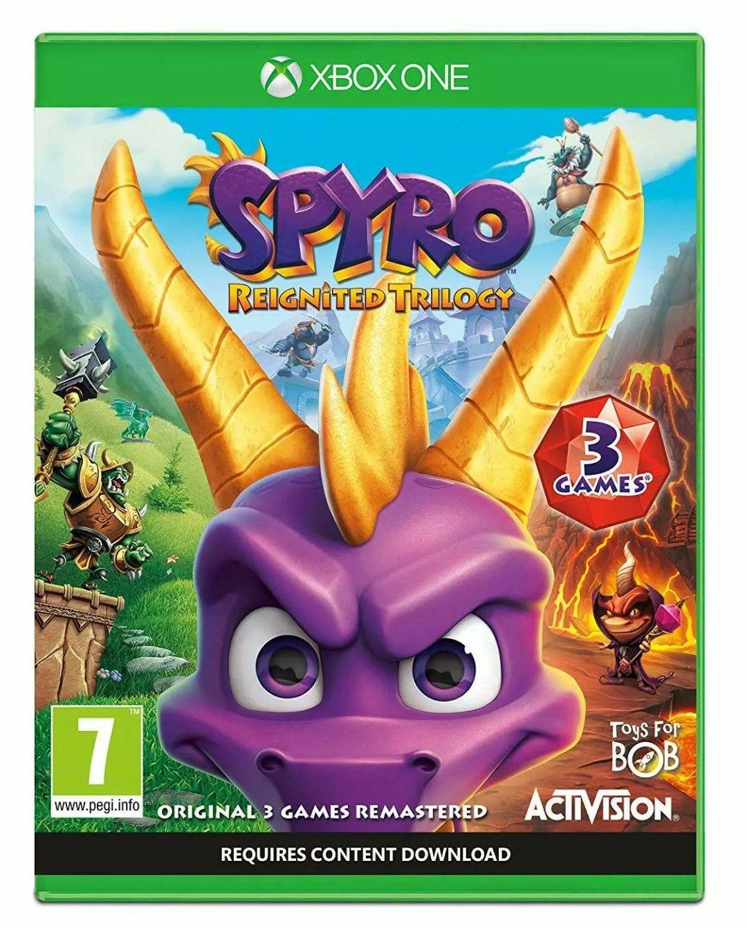 Spyro Trilogy Reignited (Xbox One) - £13.99 @ Ebay/Boomerang Rentals