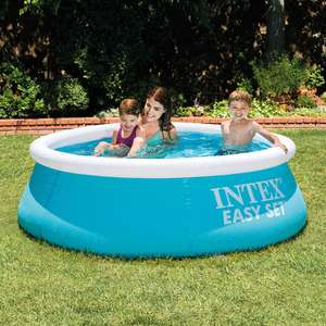 Intex Easyset Swimming 6FT Pool £17.99 / 8FT £22.49 /  Intex Swim Centre Family Lounge Paddling Pool £26.99 + Free del @ Euro Car Parts