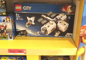 LEGO City Lunar Space Station Playset - 60227 - £30 at Sainsburys instore