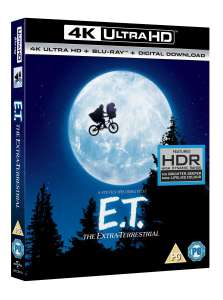 E.T. The Extra Terrestrial (4K Ultra HD + Blu-ray) - £8.99 delivered @Zoom