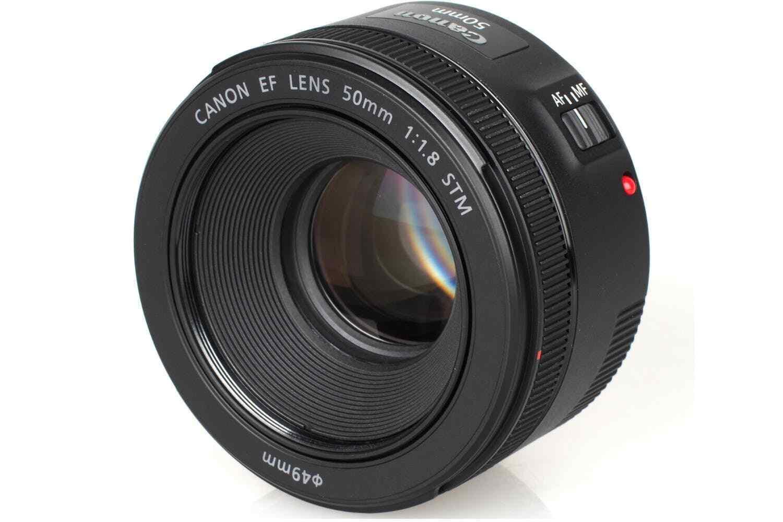 Canon EF 50mm F/1.8 STM Standard AutoFocus Lens £71.99 @ eBay /  hitechelectronicsuk