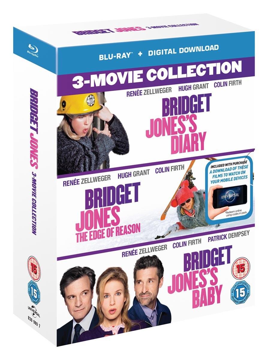 Bridget Jones's Diary/The Edge of Reason/Bridget Jones's Baby (Box Set Blu-Ray) 6.99 Zoom £6.29 with code