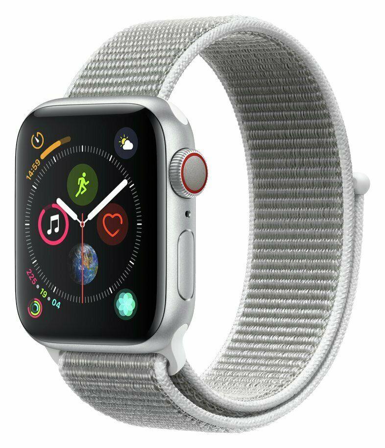 Apple Watch S4 Cellular 40mm Silver Alu with Seashell Sport Loop £377.39 Argos ebay