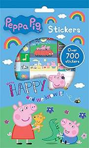 Anker Pestr Peppa Pig Stickers, 700 Piece @ Amazon Sold & Dispatched By New Era £1.79 Delivered