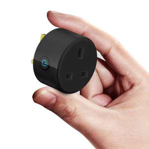 Smart Plug Wifi Power Socketworks with Alexa - £7.99 Free Prime Del / +£4.49 non Prime - Sold by OmnyJ and Fulfilled by Amazon