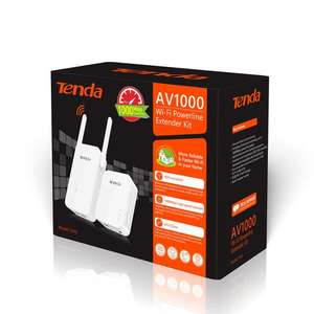 Tenda PH5 WiFi Powerline Kit - Gigabit Ports £24.99 / £27.98 delivered with Voucher code TENDA10 @ CCLOnline