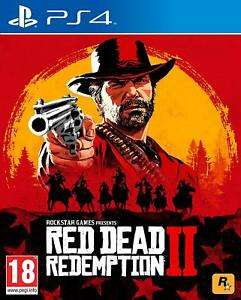 Red Dead Redemption 2 (PS4 Used) - £19.99 @ Boomerang Rentals eBay