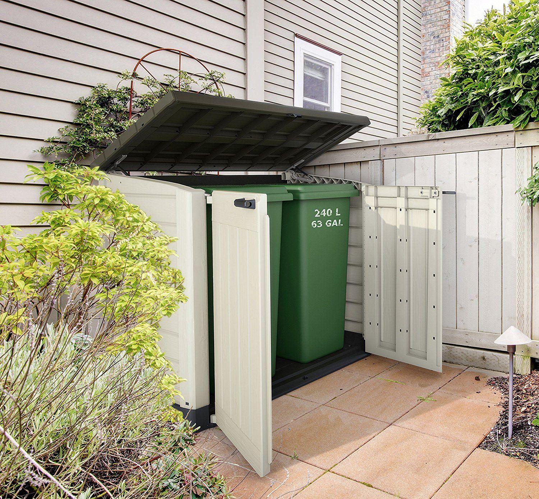 Keter Store It Out Max Plastic Garden & Wheelie Bin Storage Beige & Brown - 4 X 5 Ft £95 @ Wickes