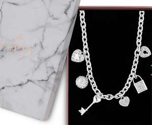 Lipsy Multi Charm Necklace - £4.80 ( Delivered Or C&C with code) @ Debenhams