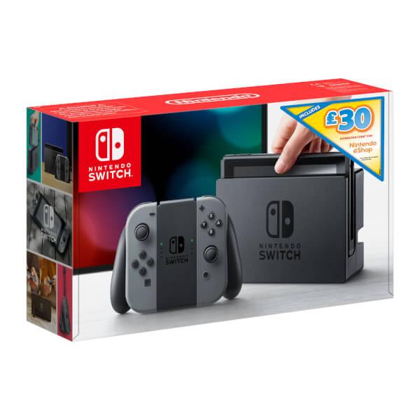 Nintendo Switch Console + £30 Nintendo eShop credit - £279.99 at Nintendo UK Store