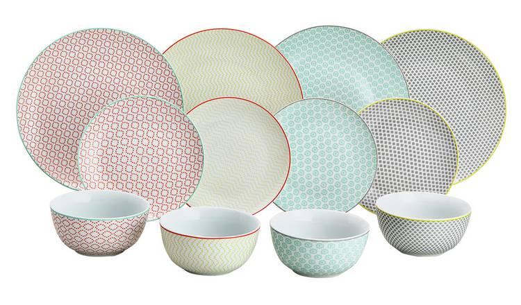 12 Piece Porcelain Tilda Multicoloured Dinner Set , Now £16.65 @ Argos ( Free C&C )