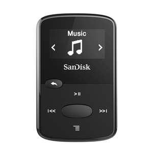 SanDisk Clip Jam 8GB MP3 Player - 4 colours, £20 15 with