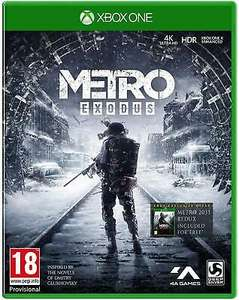 Metro Exodus Xbox One - £17.99 at Boomerangrentals eBay