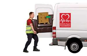 Book a free Furniture Collection with the British Heart Foundation (BHF)