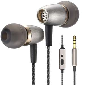 Betron AX3 Earphones Noise Isolating in Ear Headphones - £6.79 (Prime) £11.28 (Non Prime) Sold by Betron Limited and Fulfilled by Amazon