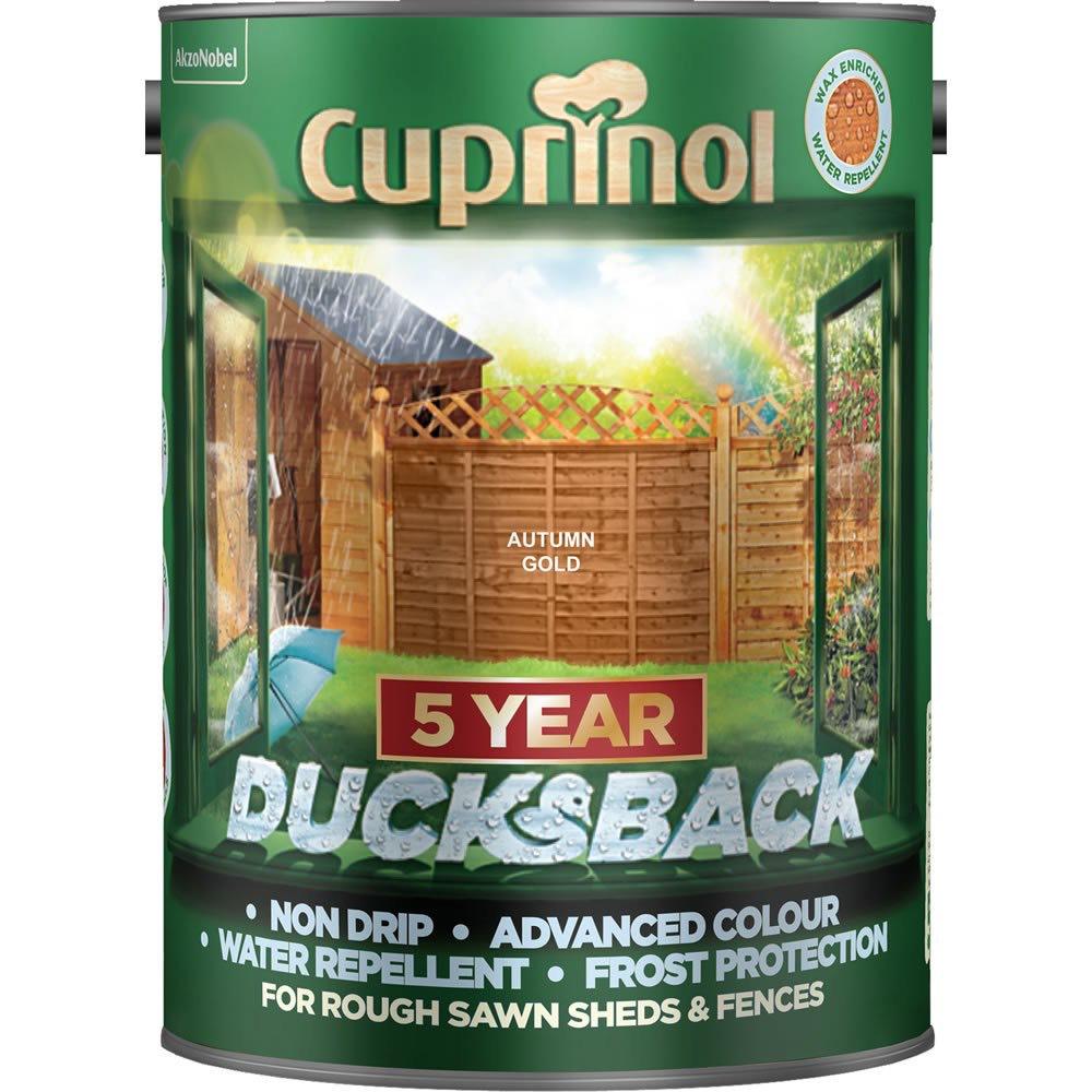 Cuprinol Ducksback Exterior Wood Paint 5L £8 @ Wilko