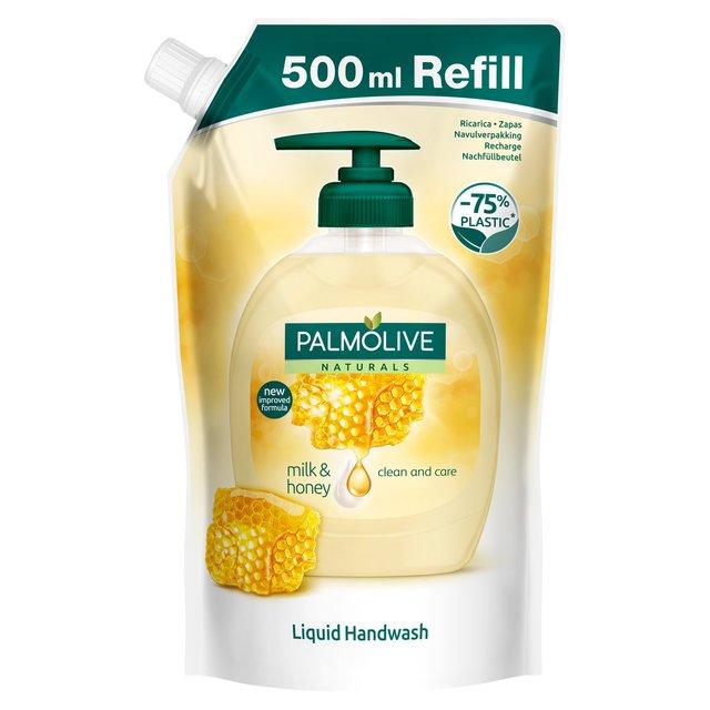 Palmolive 500ml Refill Liquid Handwash (less plastic!) - £1.25 @ Asda
