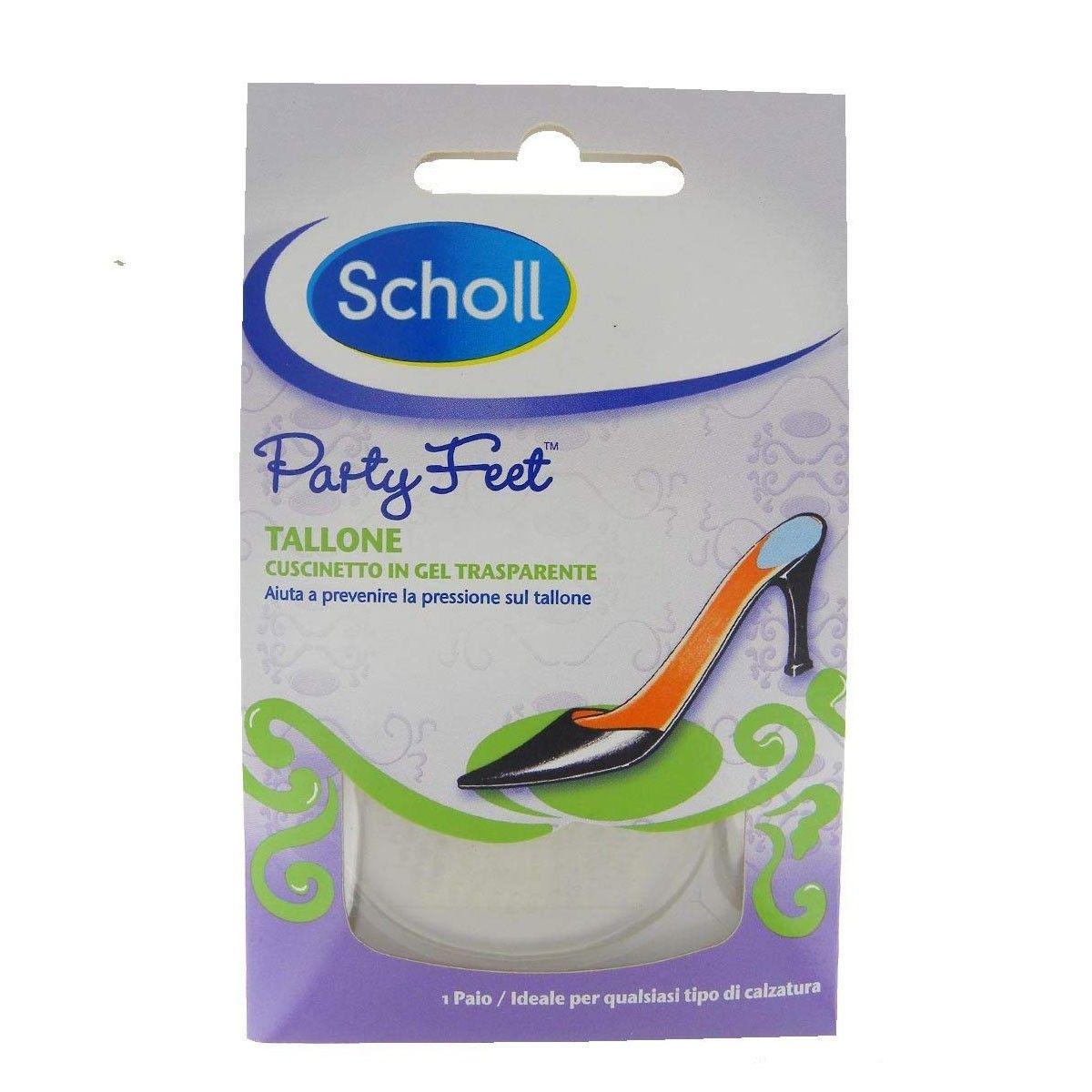 Scholl Party Feet Gel Heel Cushions - 1 Pair - 85p @ Robert Dyas