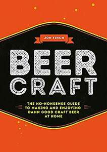 Beer Craft by Jon Finch - £2.50 (Prime) £5.49 (Non Prime) @ Amazon