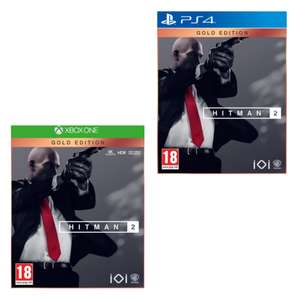 Hitman 2 Gold Edition Xbox One/PS4 £29.99 delivered / C&C @ Game