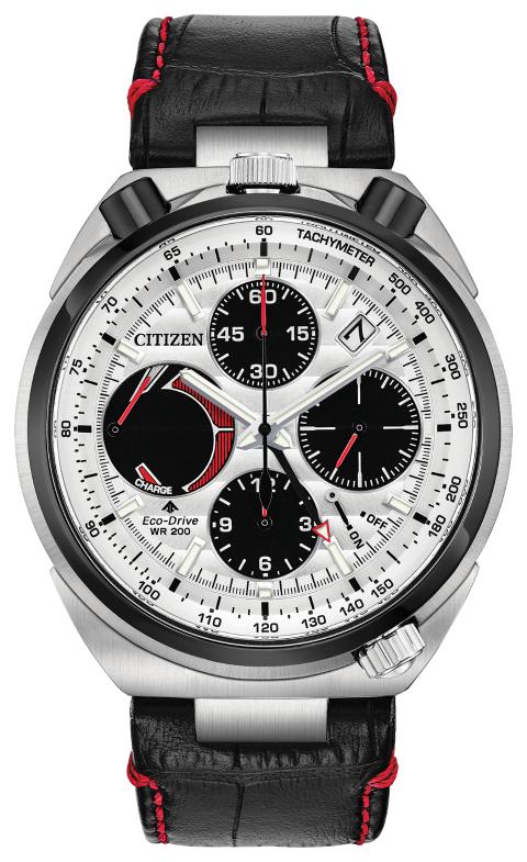 Citizen Men's Eco-Drive Tsuno Chronograph Strap Watch half price £323 H Samuel