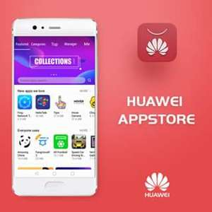 Free £2 Huawei points to Spend in the Hauwei App Store via Huawei App