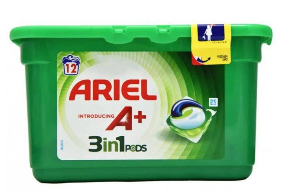 Ariel 3-in-1 Capsules - 12W - £2.69 Instore @ Poundstretcher