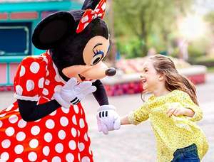 Disneyland Paris multi day tickets reduced with code 2 day park hopper £120.06/ 3 day hopper £151.79/ 4 day £180.45 with code adult price