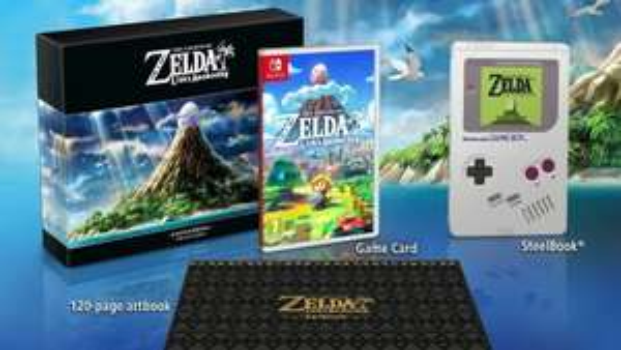 The Legend of Zelda: Link's Awakening Limited Edition £69.85 (Pre-order) @ ShopTo