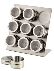 Argos Home 9 Piece Magnetic Spice Canister Set £8.50 @ Argos (Free C&C)