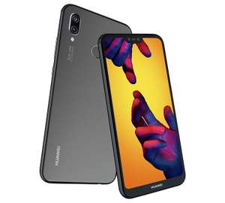 Huawei P20 Lite 64 GB 5.8-Inch FHD+ FullView Android 8.0 SIM-Free Smartphone, Dual SIM, Midnight Black at Amazon £199.99