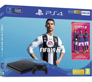 PS4 console with FIFA 19 for £279.99 at Currys