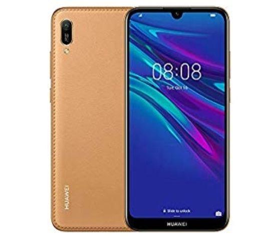 Huawei Y6 2019 32 GB Amber Brown Smartphone £99.95 + £10 PAYG EE Sim @ Amazon