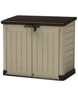 Keter Store-It Out Max Outdoor Plastic Garden Storage Shed, Beige and Brown - £95 at Amazon