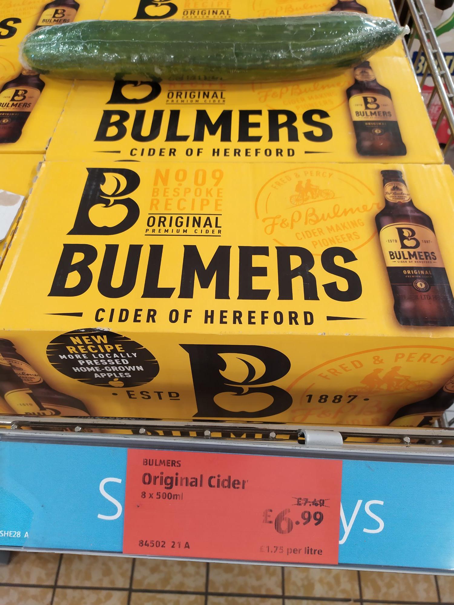 Apple Bulmers £6.99 in Aldi Southampton