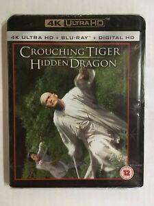 Crouching Tiger Hidden Dragon 4K UltraHD BluRay + Digital HD £10.93 delivered @ amoredvd ebay