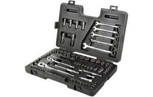 90 piece socket set £65. Saving £105. with 1/4, 3/8, 1/2 rachets - Halfords