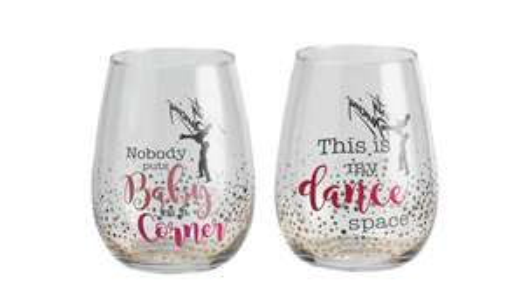 Dirty Dancing Glass Set - £2.50 @ Argos (Free C&C)