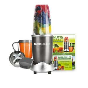 NUTRiBULLET 600 Series - Nutrient Extractor High Speed Blender - 600W 8 Piece Set - Graphite - £49.99 @ Amazon