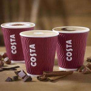 Buy one get one free Costa Coffee Drink Via App with Mobile ordering (Selected parts of the UK)