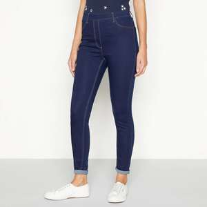 The Collection - Dark blue skinny fit jeggings (was £16) now £6.40 delivered @ Debenhams