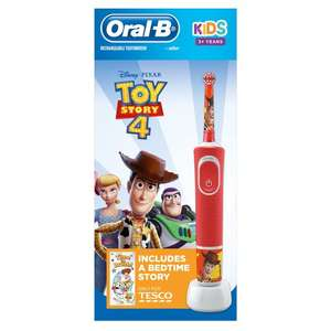 Toy Story 4 Oral-B Kids 3+ Electric Toothbrush £17.50 Tesco