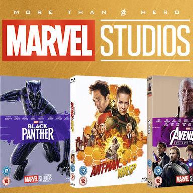 Marvel Studios | 2 Blu-Rays For £15 @ Zoom