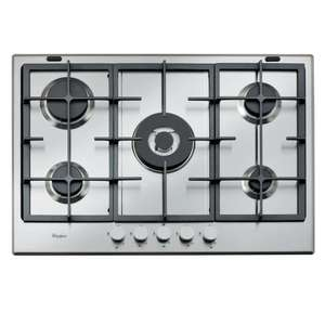 Whirlpool Absolute GMA 7522/IX Built-In Gas Hob With Wok Burner £143.97 C&C / £163.92 Delivered @ Appliances Direct