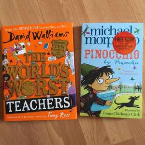 Sainsburys David Walliams Worlds Worst Teacher, plus free book £6.99 IN STORE