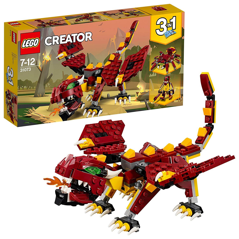 Lego 31073 Creator Mythical Creatures Children's Toy £6.50 (prime) £10.99 (non prime) @ Amazon
